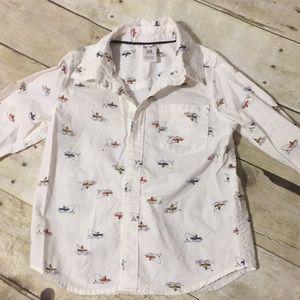 Carters Fishing button down shirt